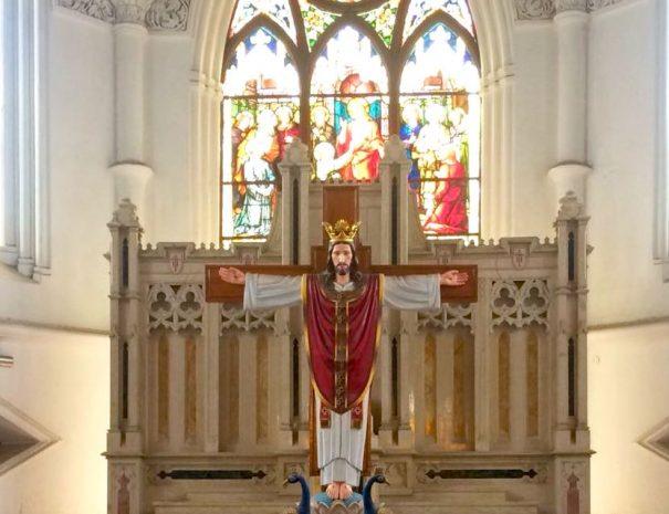 Mylapore walking tour to San Thome Basilica