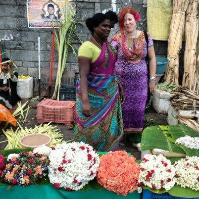 Market walk in Chennai at George Town