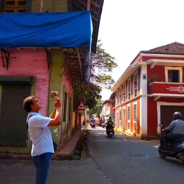 walking tour in Goa