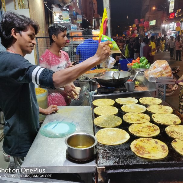 Food street walk in Bangalore