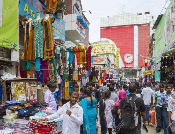 Chennai shopping walk