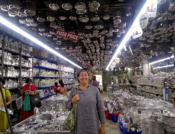 Utensil shop, wedding shopping walk in Chennai