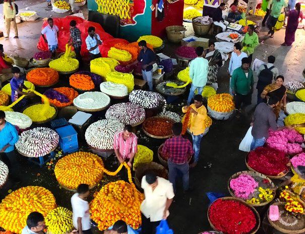 Flower Market in Pete